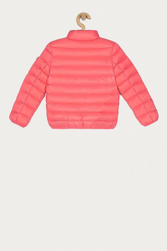 Tommy Hilfiger - Dětská péřová bunda 104-176 cm růžová