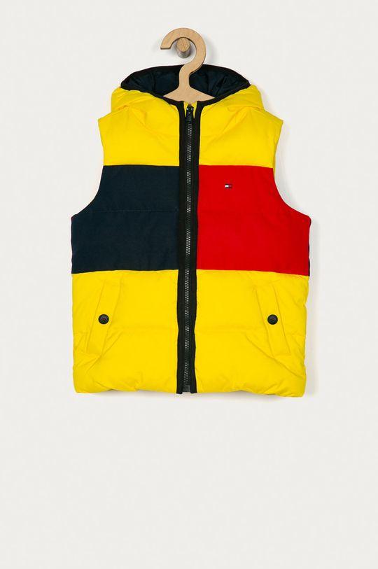 galben Tommy Hilfiger - Vesta copii 104-176 cm De băieți