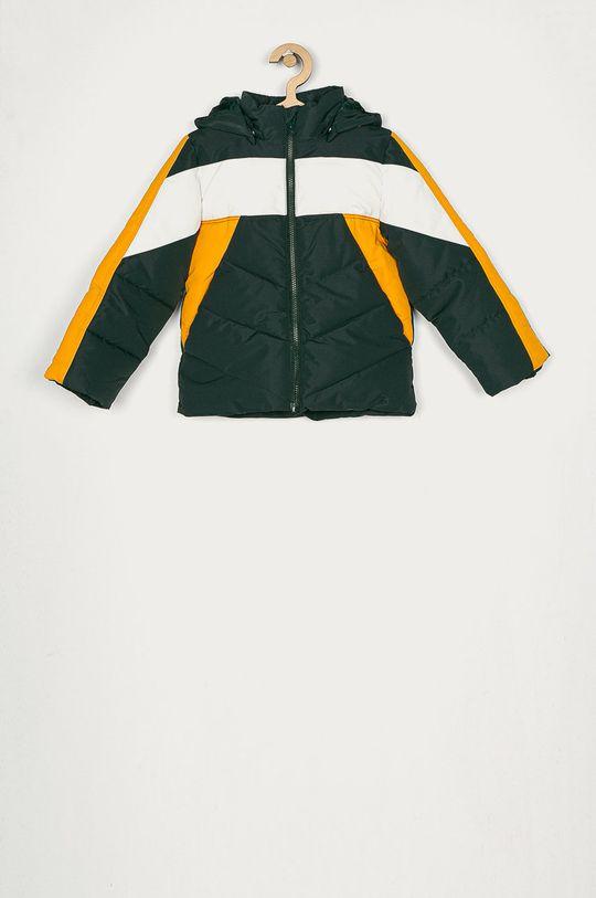ocelová zelená Name it - Dětská bunda 116-164 cm Chlapecký