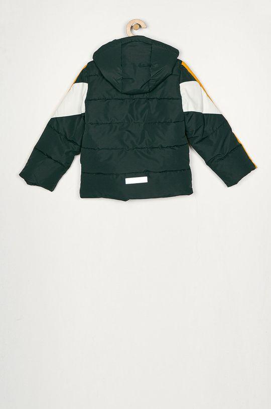 Name it - Dětská bunda 116-164 cm ocelová zelená