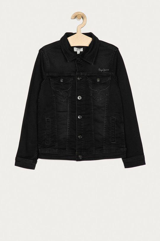 černá Pepe Jeans - Dětská riflová bunda Legendary 140-178 cm Chlapecký