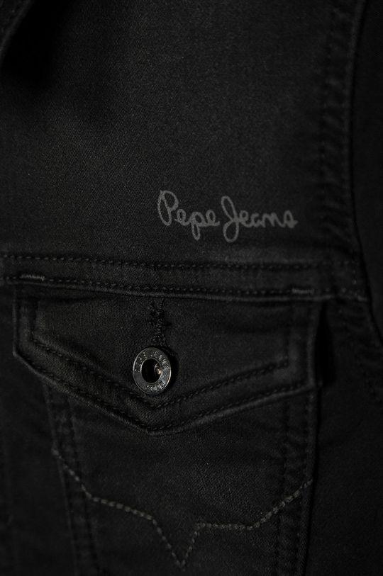 Pepe Jeans - Dětská riflová bunda Legendary 140-178 cm černá