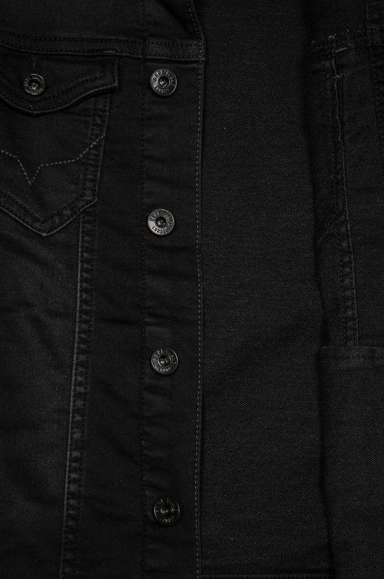 černá Pepe Jeans - Dětská riflová bunda Legendary 140-178 cm