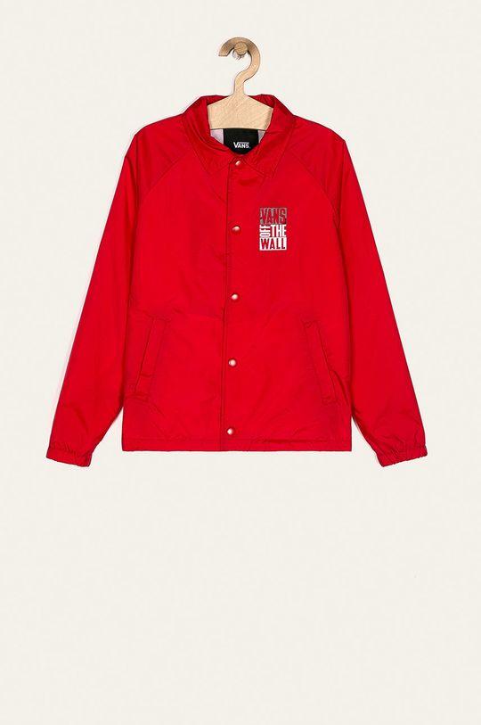 czerwony Vans - Kurtka dziecięca 129-173 cm Chłopięcy