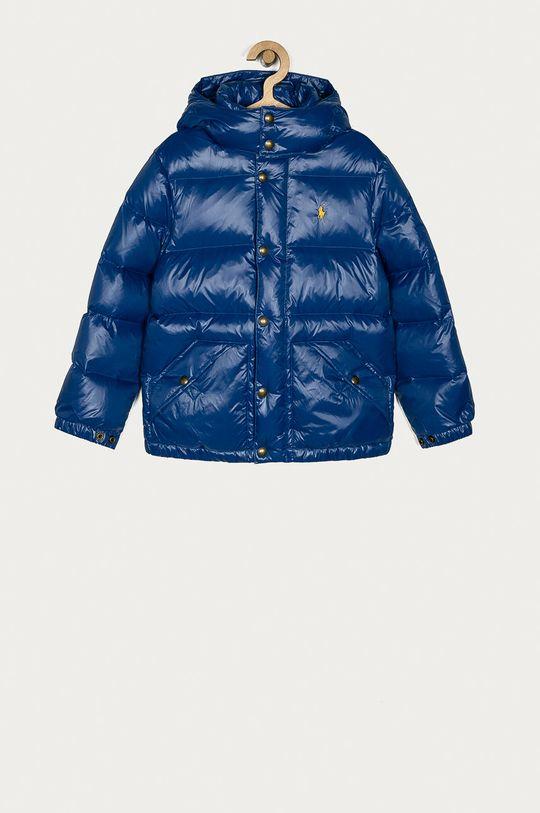 modrá Polo Ralph Lauren - Páperová bunda 134-158 cm Chlapčenský