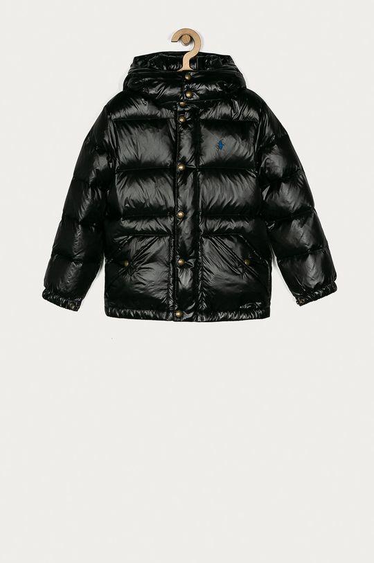 čierna Polo Ralph Lauren - Detská páperová bunda 134-176 cm Chlapčenský