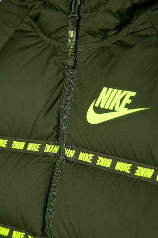 Nike Kids - Dětská péřová bunda 122-170 cm olivová
