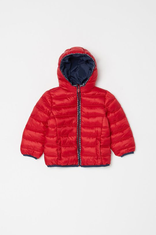 czerwony OVS - Kurtka dziecięca 80-98 cm Chłopięcy