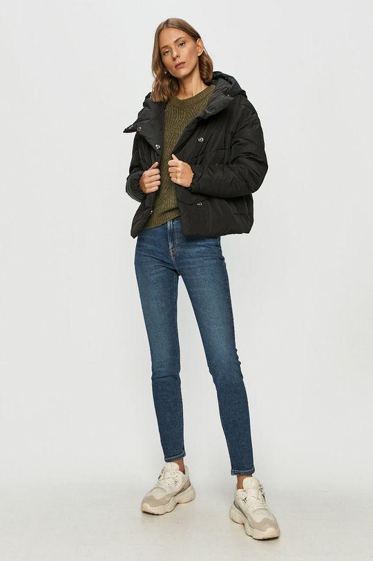 Noisy May - Rövid kabát fekete