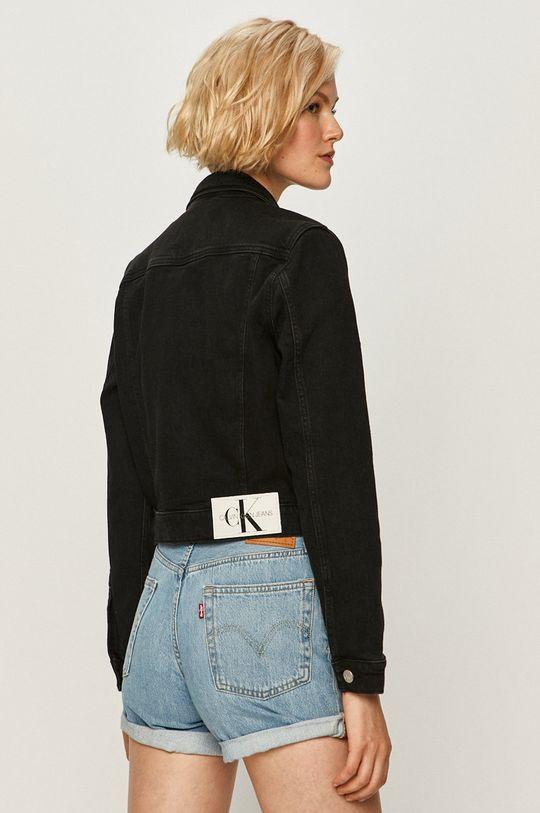Calvin Klein Jeans - Detská bunda  99% Bavlna, 1% Elastan