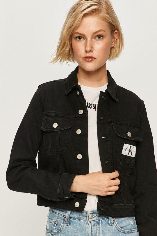 čierna Calvin Klein Jeans - Detská bunda