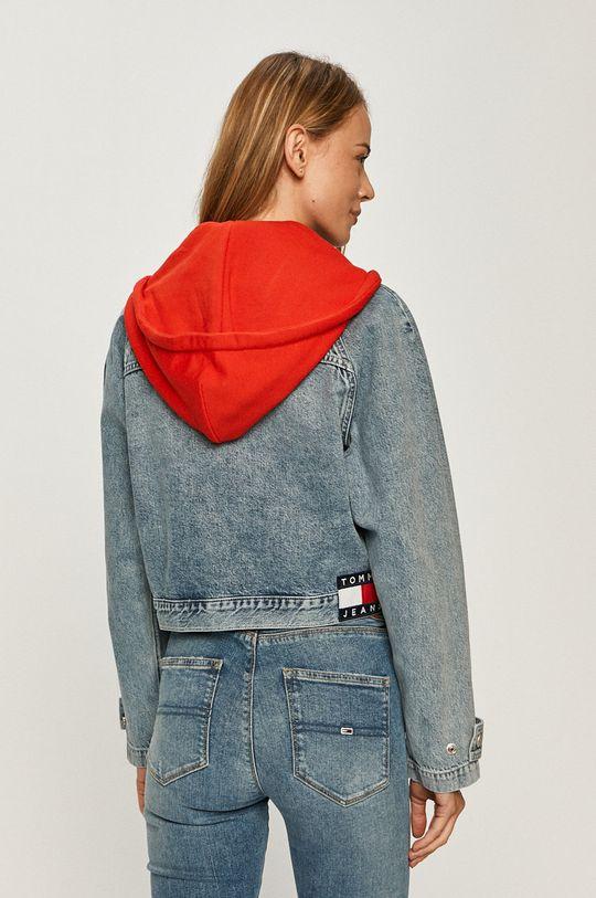 Tommy Jeans - Rifľová bunda  Základná látka: 100% Bavlna Podšívka kapucne : 50% Bavlna, 50% Polyester