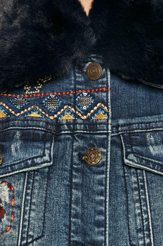 Desigual - Kurtka jeansowa Damski