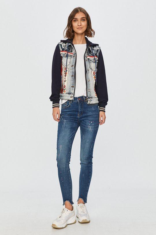 Desigual - Куртка голубой