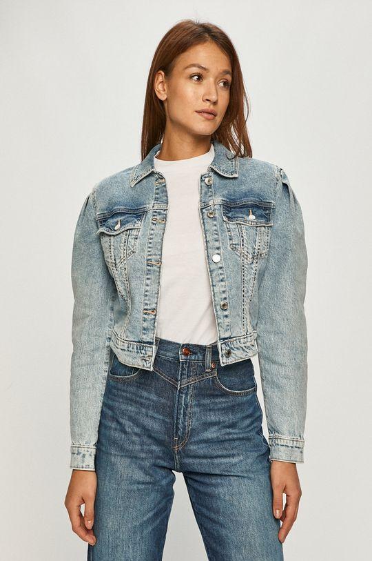 modrá Guess Jeans - Rifľová bunda Dámsky