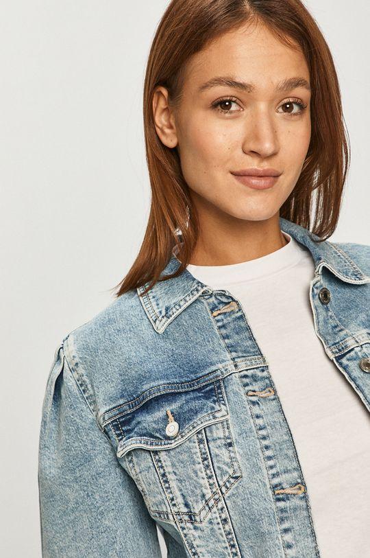 modrá Guess Jeans - Rifľová bunda
