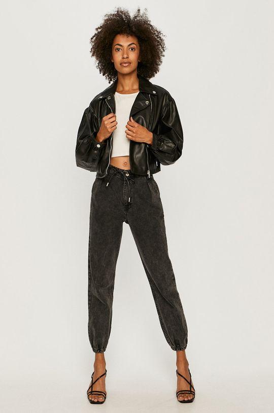 Guess Jeans - Ramoneska czarny