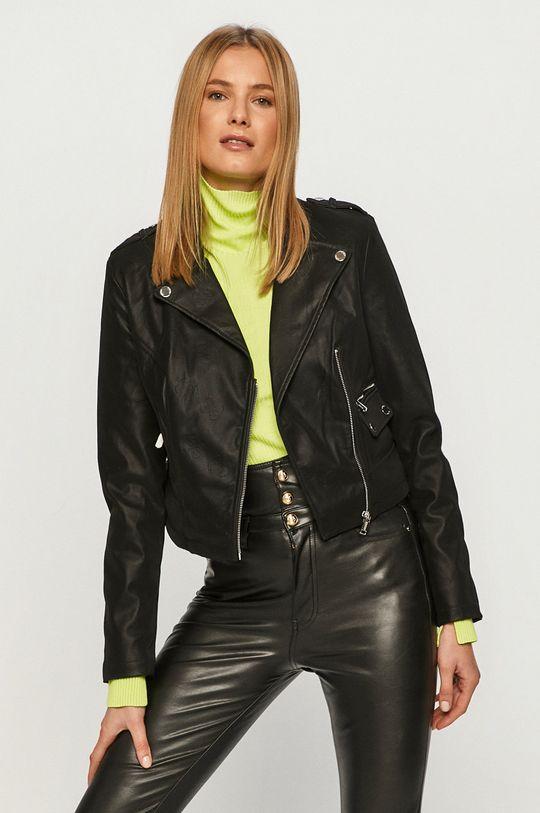 czarny Guess Jeans - Ramoneska Damski