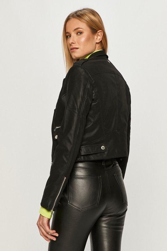 Guess Jeans - Ramoneska Podszewka: 4 % Elastan, 96 % Poliester, Wypełnienie: 100 % Poliester, Materiał zasadniczy: 100 % Poliuretan