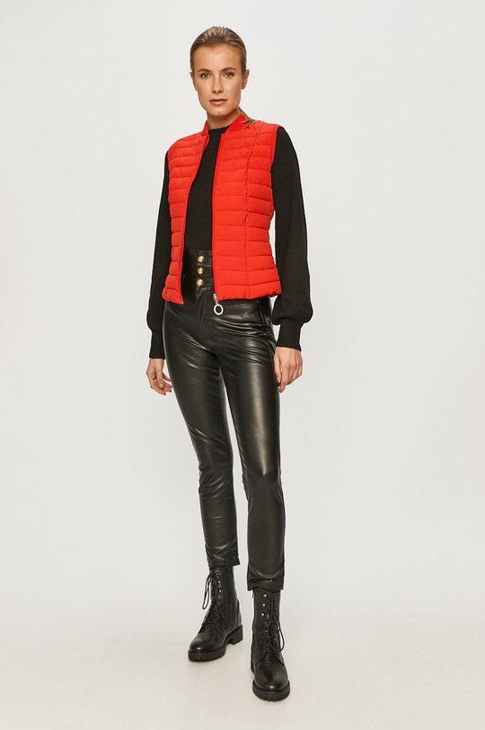 Guess Jeans - Bezrękawnik czerwony