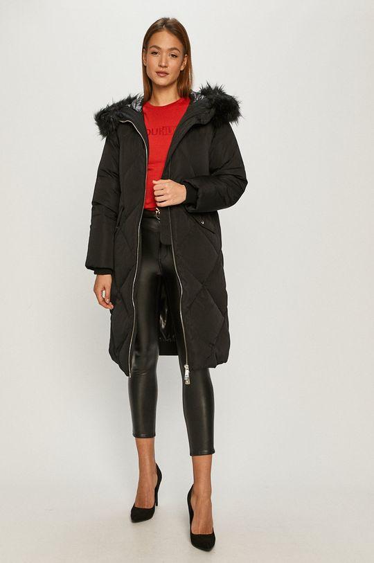 Guess Jeans - Péřová bunda černá
