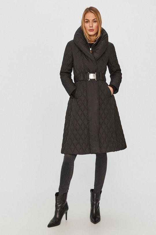 černá Guess Jeans - Péřová bunda Dámský