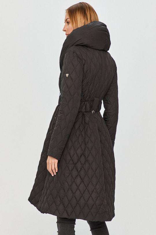 černá Guess Jeans - Péřová bunda