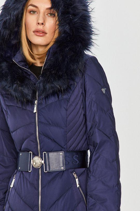 námořnická modř Guess Jeans - Péřová bunda