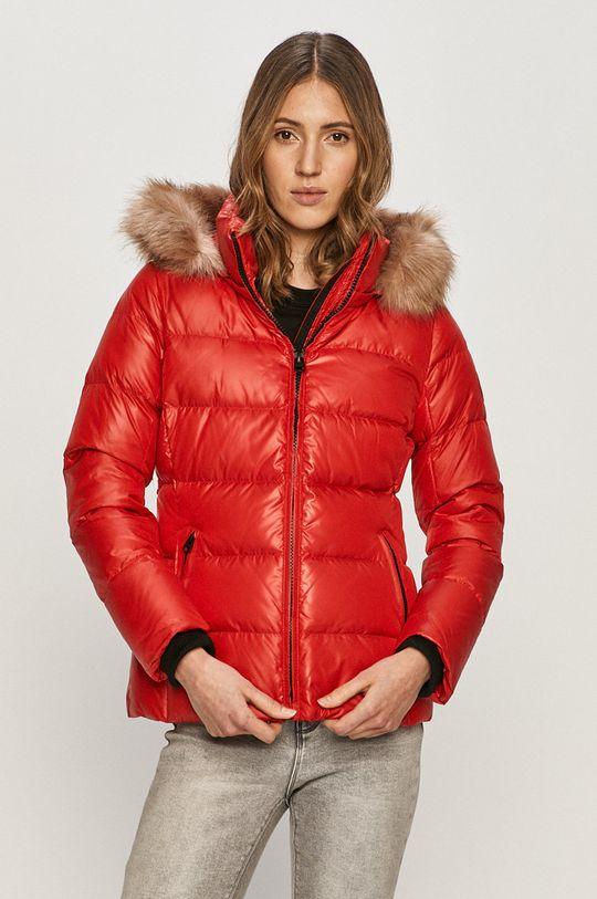 červená Calvin Klein - Péřová bunda Dámský
