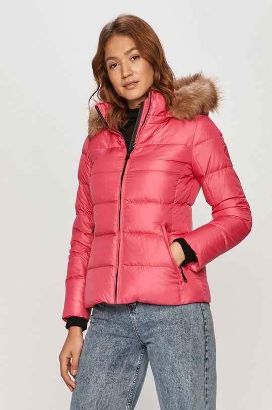 ostry różowy Calvin Klein - Kurtka puchowa Damski