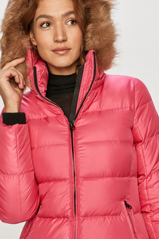 ostry różowy Calvin Klein - Kurtka puchowa