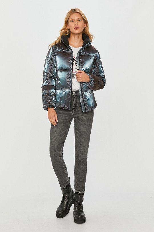 Calvin Klein Jeans - Bunda fialová