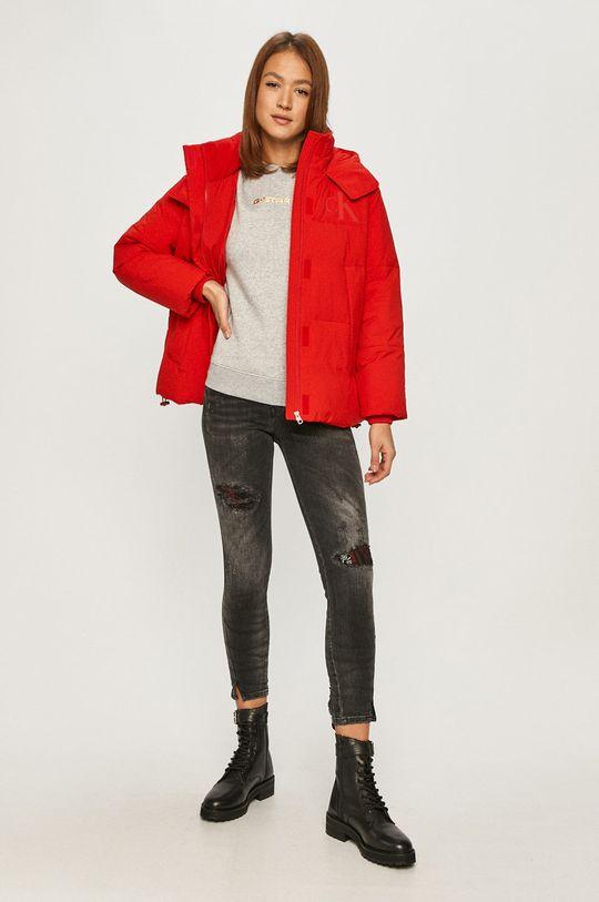Calvin Klein Jeans - Bunda červená