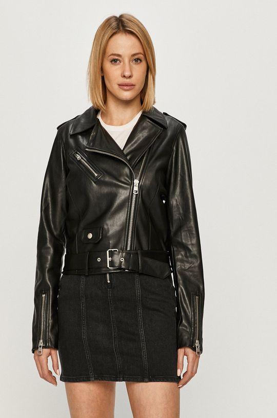 czarny Calvin Klein Jeans - Ramoneska Damski