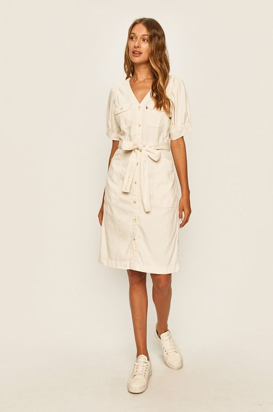 Levi's - Šaty bílá