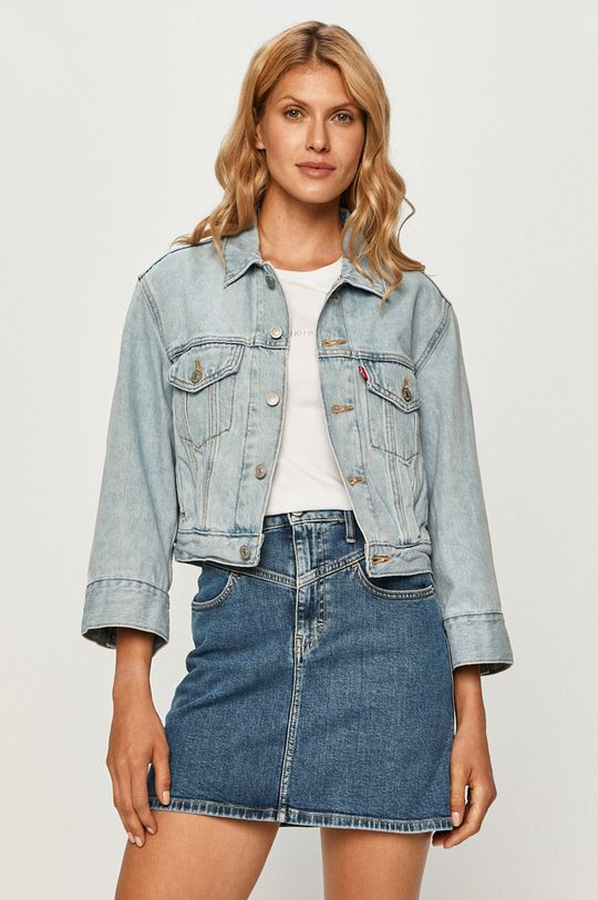 blady niebieski Levi's - Kurtka jeansowa