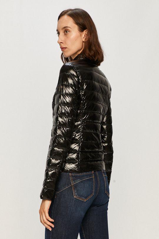 černá Patrizia Pepe - Oboustranná péřová bunda