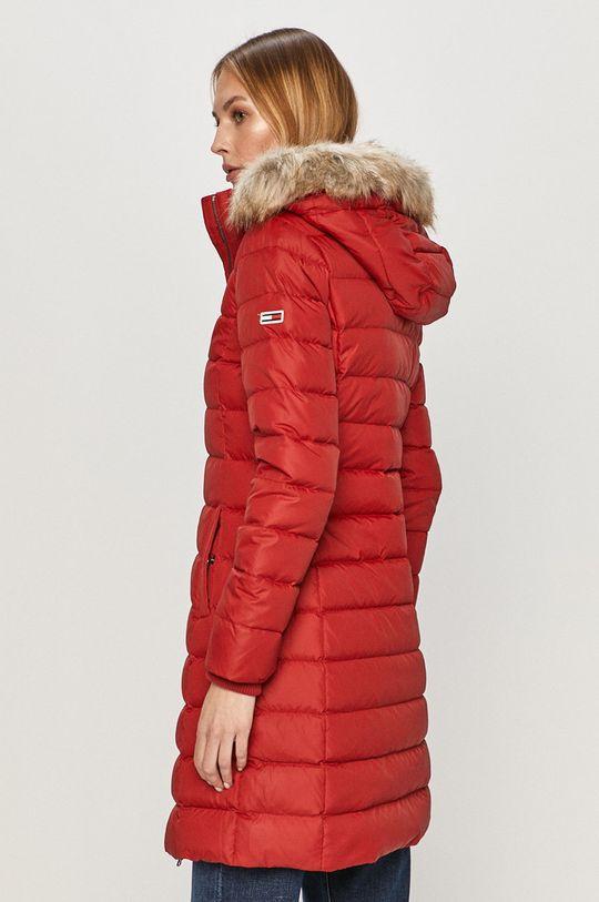 Tommy Jeans - Péřová bunda  Výplň: 30% Peří, 70% Chmýří Materiál č. 1: 100% Polyester Materiál č. 2: 2% Elastan, 98% Polyester Materiál č. 3: 58% Akryl, 42% Modacryl