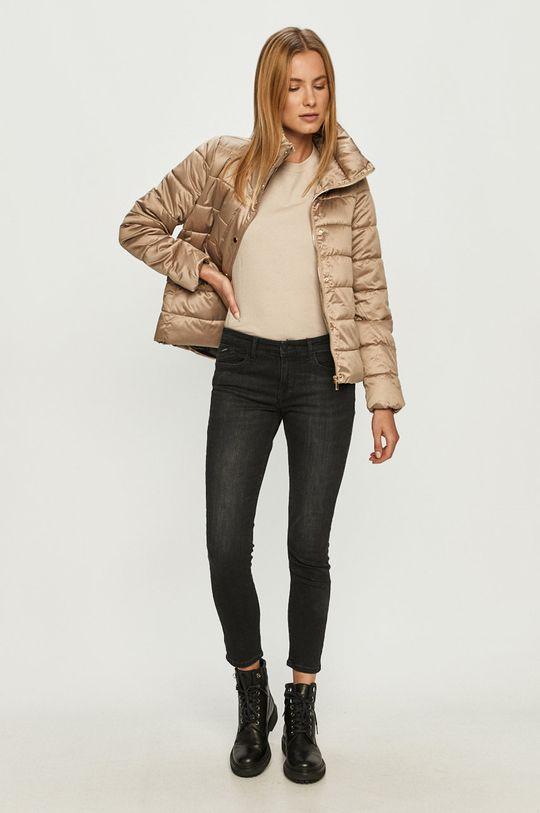 Vero Moda - Rövid kabát bézs
