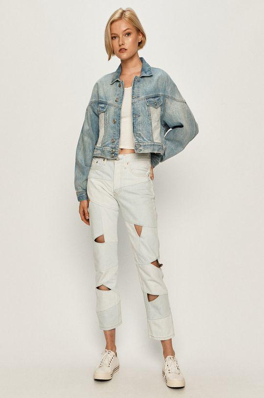 Pepe Jeans - Rifľová bunda Volt Flow modrá