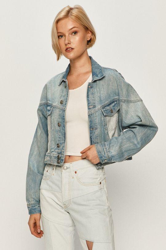 modrá Pepe Jeans - Rifľová bunda Volt Flow