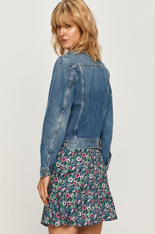 Pepe Jeans - Kurtka jeansowa Rose 100 % Bawełna