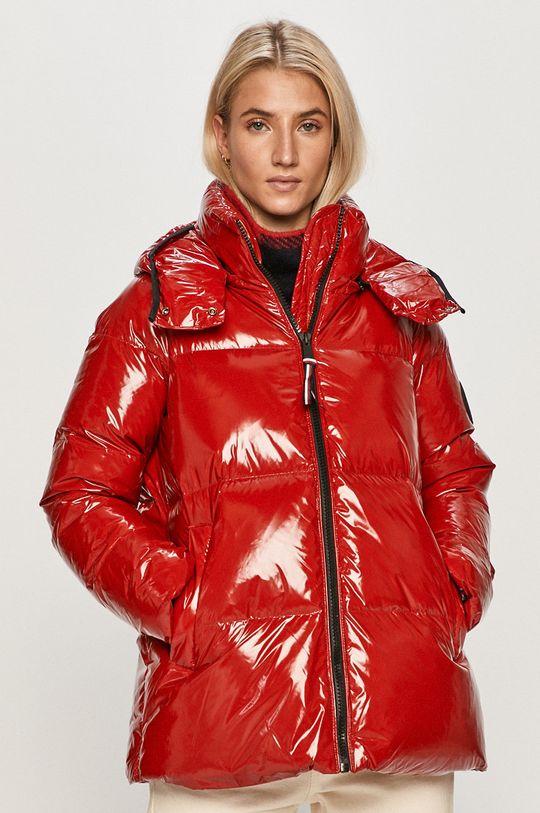 červená Tommy Hilfiger - Péřová bunda Dámský