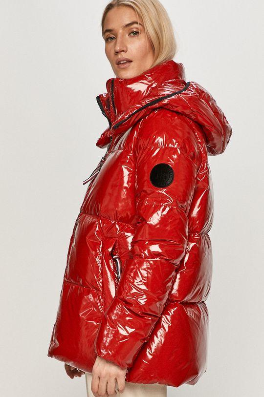 červená Tommy Hilfiger - Péřová bunda
