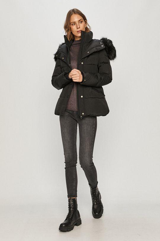 Tommy Hilfiger - Péřová bunda černá