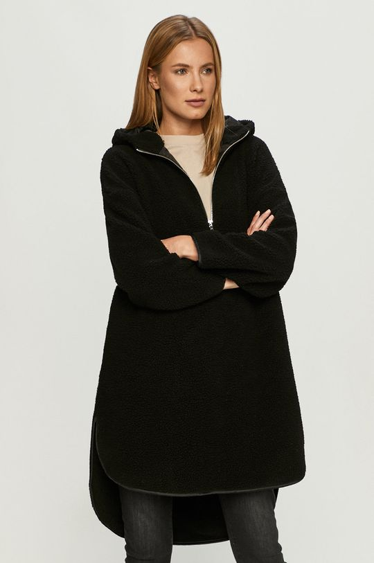 fekete Only - Rövid kabát Női