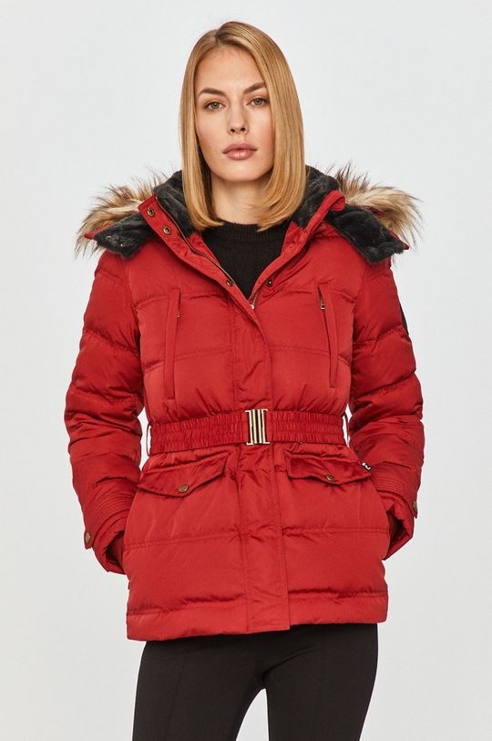červená Pepe Jeans - Péřová bunda Almah Dámský