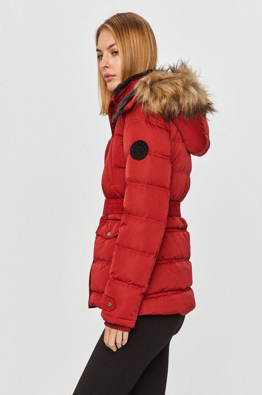 červená Pepe Jeans - Péřová bunda Almah