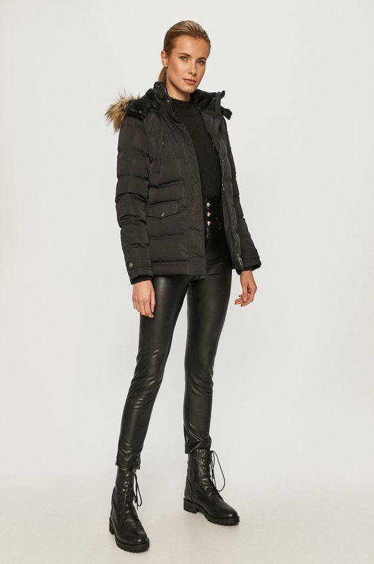 Pepe Jeans - Péřová bunda Almah černá