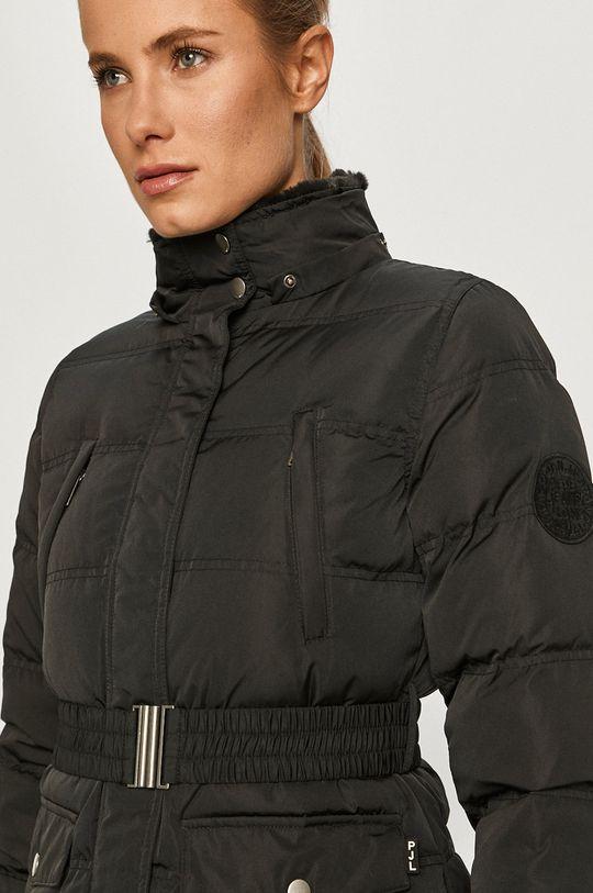 černá Pepe Jeans - Péřová bunda Almah